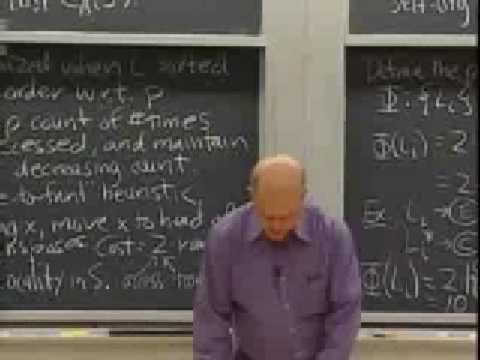 Baixar Lec 14 | MIT 6.046J / 18.410J Introduction to Algorithms (SMA 5503), Fall 2005