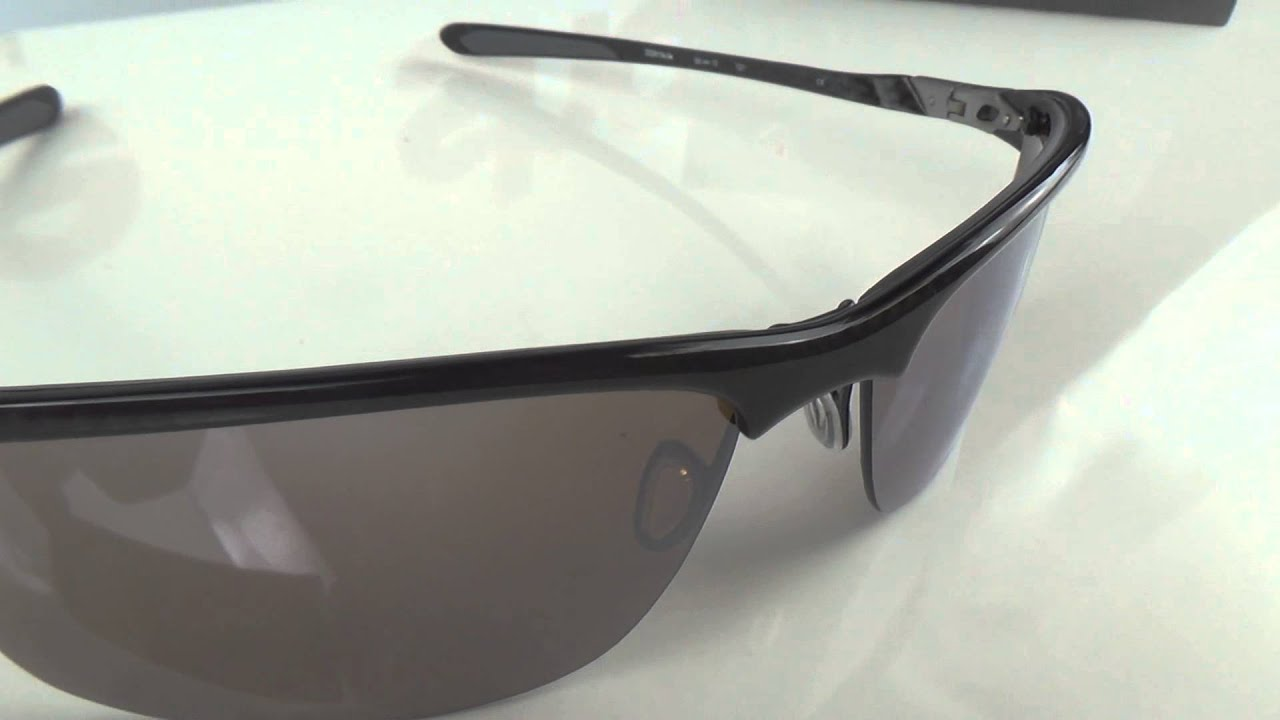 Oakley Carbon Blade sunglasses overview - YouTube