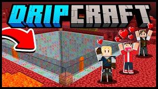 Mineradora automática no NETHER e ARMADURA bolada? - DripCraft #17