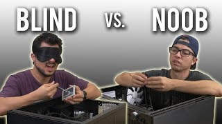 The Blindfold PC Build Challenge!