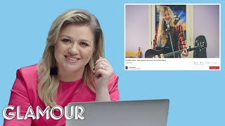 Kelly Clarkson Watches Fan Covers on YouTube | Glamour