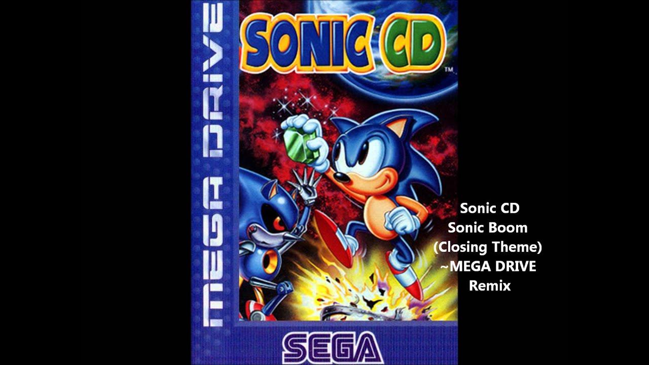Sonic Cd Sonic Boom Ending Mega Drive Remix Youtube