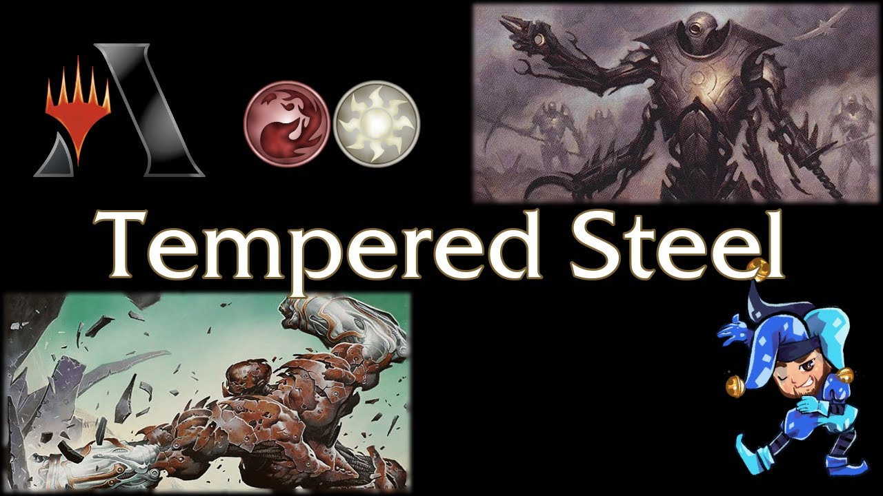 White Red Tempered Steel - Historic Magic Arena Deck - April 7th, 2021