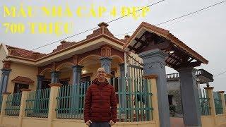Thăm Quan Mẫu Nhà Cấp Đẹp Tại Ninh Bình - Chỉ Có 700 triệu với diện tích 120m2