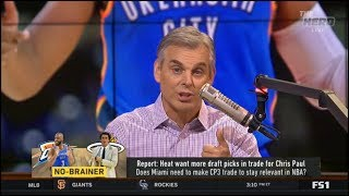 THE HERD | Colin Cowherd SHOCKED Heat want more draft picks in trade for Chris Paul