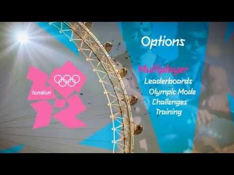 Menu UI Design // London Olympics 2012 Video Game