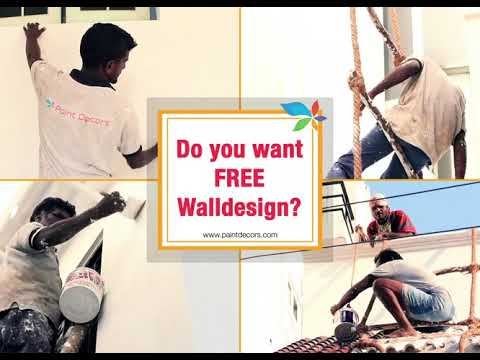 Book Now - Free Wall Design Worth 7500/- With Paint Decors