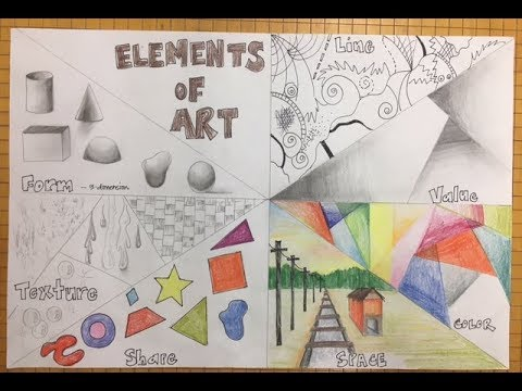 7 elements of art and their definitions