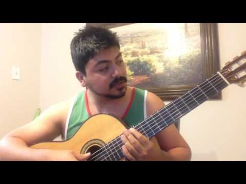 Mi Destino Fue Quererte como tocar Requinto y Guitarra