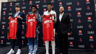 Introductory Press Conference   Houston Rockets