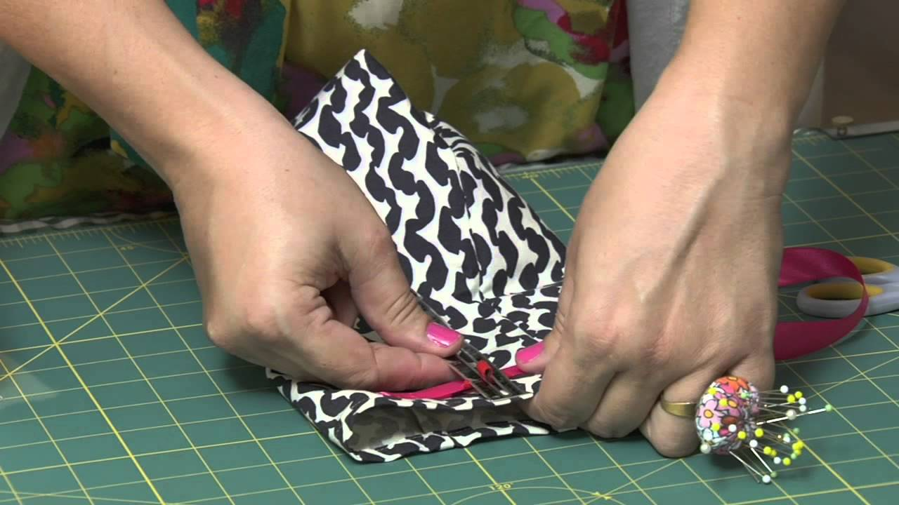 DIY Sew A Drawstring Bag YouTube