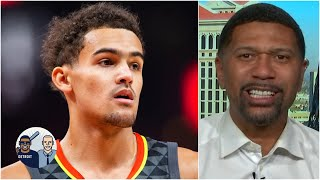 Jalen Rose on Trae Young dropping 50 points: He has been outstanding this season | Jalen & Jacoby