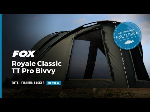video Fox EOS TT Pro Bivvy 2 Man Fishing Shelter