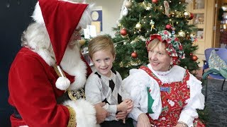 Bringing the Holidays to Duke Children's Hospital video