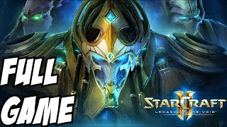 Starcraft 2 Legacy of the Void Gameplay Walkthrough Part 1 Campaign Story Let's Play 1080p HD Brutal