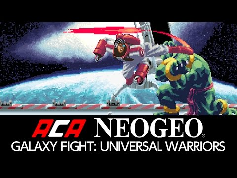 ACA NEOGEO GALAXY FIGHT: UNIVERSAL WARRIORS Trailer