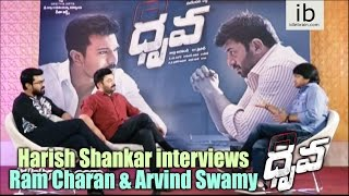 Dhruva special interview : Harish Shankar interviews Ram C..