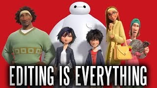 BIG HERO 6 BUT IN 7 DIFFERENT GENRES
