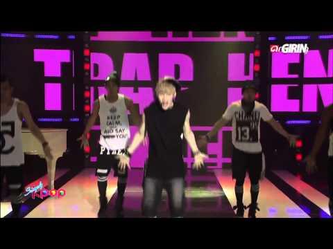 130702 Henry - Trap @ Simply K-POP