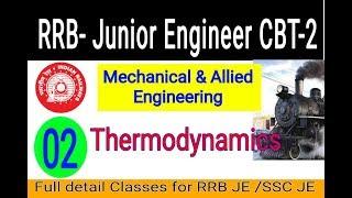 RRB JE Mechanical (Thermodynamics) Part-2