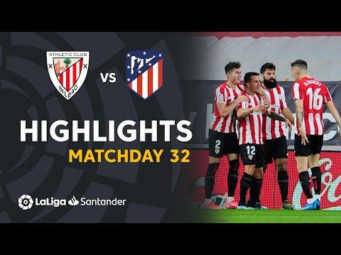 ⚽ HIGHLIGHTS I Athletic Club 2-1 Atlético Madrid I LaLiga Matchday 32