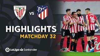 Highlights Athletic Club vs Atlético de Madrid (2-1)