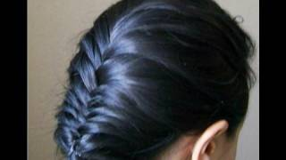 French fishtail braid, hairstyle, easy, cute, everyday, hair