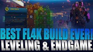 Borderlands 3 - BEST FL4K Build For Leveling + End Game! INSANE Damage Guide
