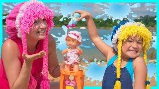 Nenuco Bebe Jugando en la Playa S3:E144
