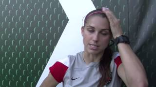 Alex Morgan: On bed bugs and keys NWSL growth