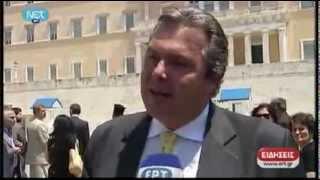 Δηλώσεις Π.Καμμένου περί Δημοψηφίσματος 20-5-2012