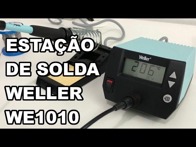 A INCRÍVEL ESTAÇÃO DE SOLDA WELLER WE1010!