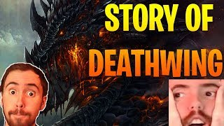 """Asmongold Reacts to """"The True Story of Deathwing"""" by Nixxiom - World of Warcraft"""