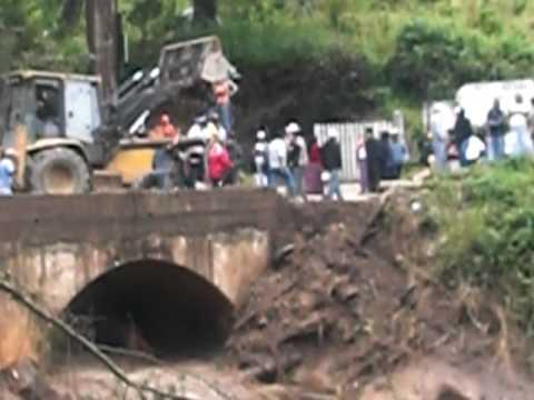Patzun Chimaltenango está herida! Tormenta AGATHA