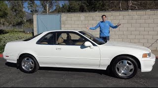 The 1994 Acura Legend Coupe Proves that Acura Used to Be Cool
