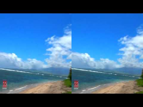 Watch 3D Video Extreme!!! (Evo 3D Works) - 3D Video Beach Hawaii 3D Video Everyday