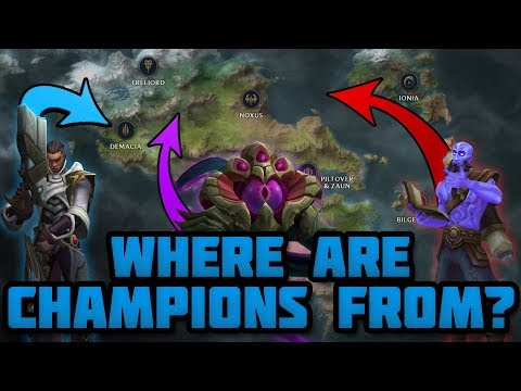Where Are Champions From?