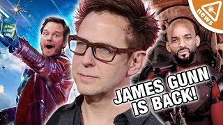 James Gunn Back for GOTG 3 - What Does This Mean for Suicide Squad? (Nerdist News w/ Jessica Chobot)