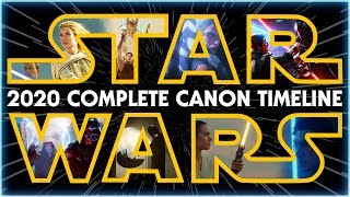 Star Wars: The Complete Canon Timeline (2020)