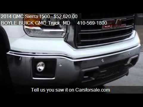 2014 GMC Sierra 1500 SLT for sale in ABINGDON, MD 21009 at t