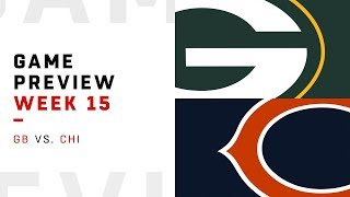 Green Bay Packers vs. Chicago Bears   Week 15 Game Preview   Move the Sticks