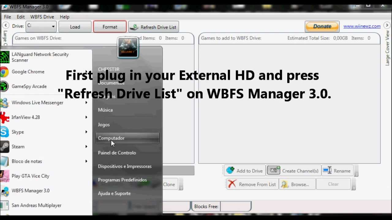 how to put wii iso on wii