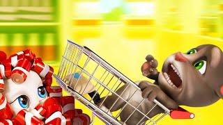 Talking Tom Shorts 32 - The Last Cereal (Shopping Drift)