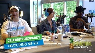 Celebrity Jeopardy ft. Ne-Yo | Elvis Duran Exclusive