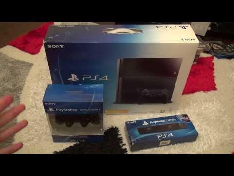 PlayStation 4 Kutu Açılımı (PS4 Unboxing)