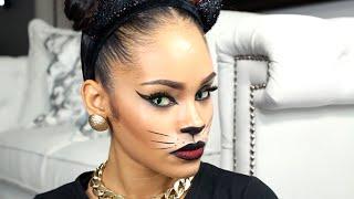 Last Minute Halloween Makeup Tutorial - Sexy Cat