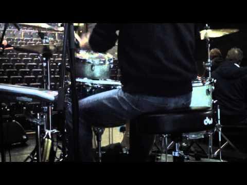 Fools Garden - Ordinary Man - Soundcheck - Drum Set Cam -