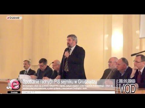 Spotkanie radnych PiS sejmiku w Grudziądzu