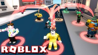 TAKING MONEY FROM NOOBS!! | ROBLOX CASH GRAB SIMULATOR