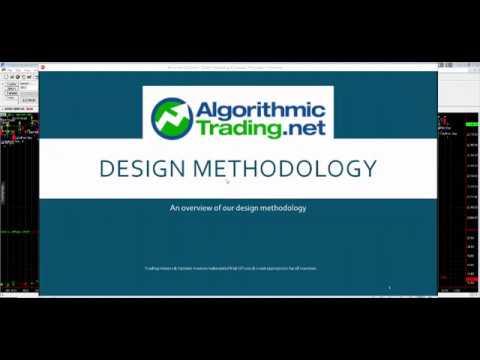 Algorithmic Trading Design Methodology Primer